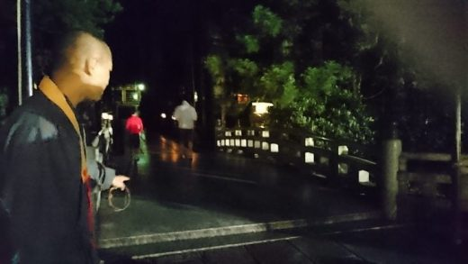 高野山奥の院ナイトツアー