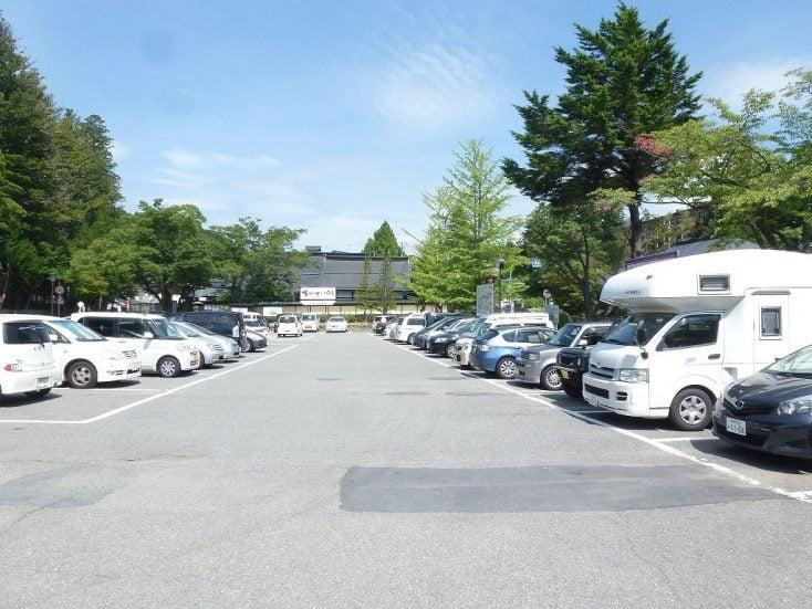 金剛峰寺前駐車場