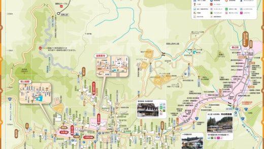 高野山の地図