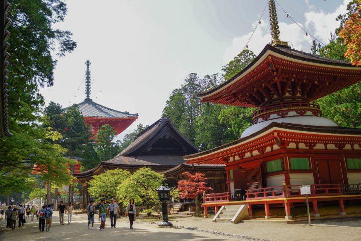 高野山二大聖域の一つ壇上伽藍の魅力と見どころ!
