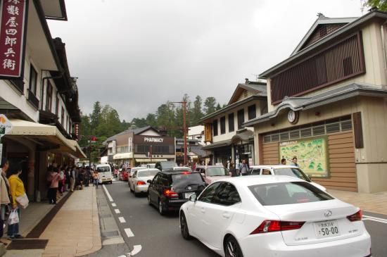 混雑時でも駐車の期待ができる高野山の無料駐車場