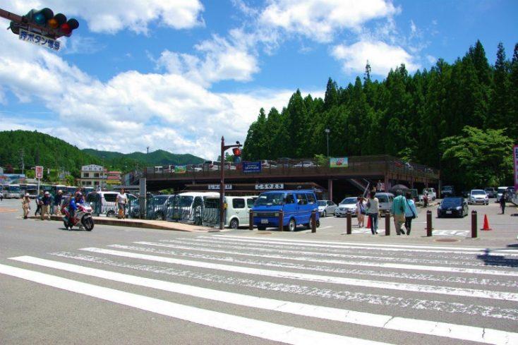 中の橋駐車場
