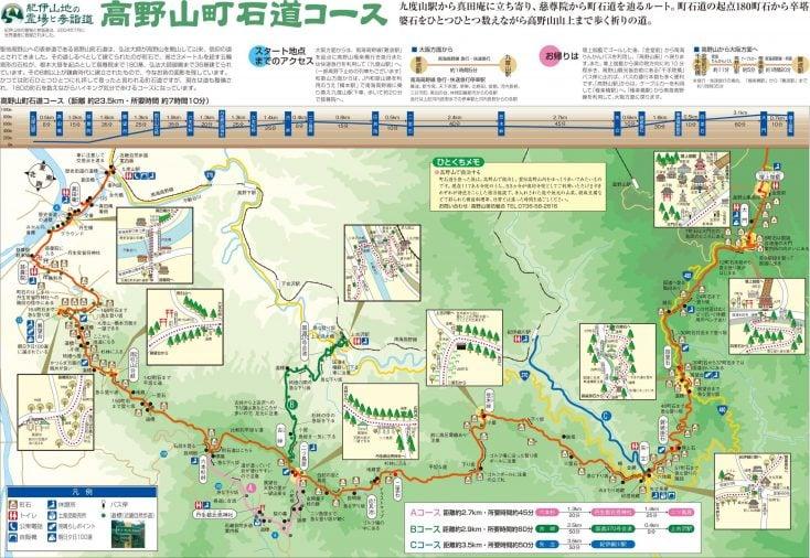 高野山ウォーキングガイド…高野山町石道巡り