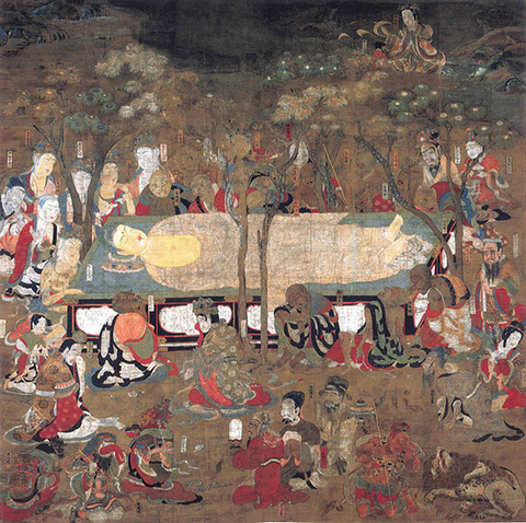 国宝仏涅槃図